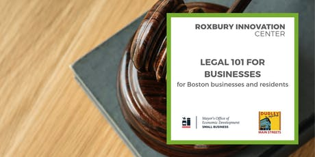 Legal 101 for Small Businesses (Part 4 of 5): RICxOED tickets