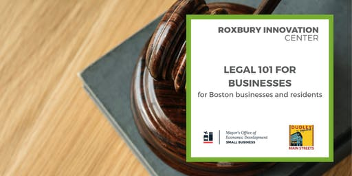Legal 101 for Small Businesses (Part 4 of 5): RICxOED
