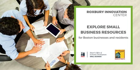 Explore Small Business Resources (Part 5 of 5): RICxOED tickets