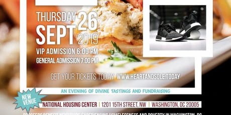 HeArt & Sole: An evening of divine tastings and fundraising tickets