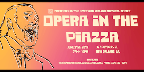 Opera in the Piazza  tickets