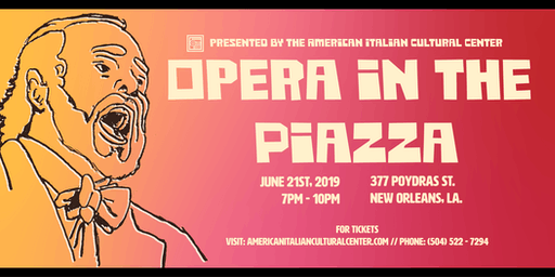 Opera in the Piazza