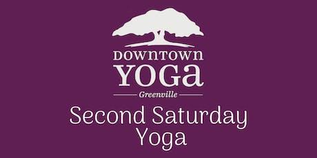 Second Saturday Yoga tickets