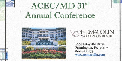 ACEC/MD 31st Annual Conference