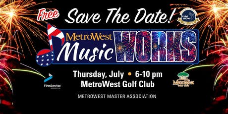 4th of July MetroWest MusicWORKS Event tickets