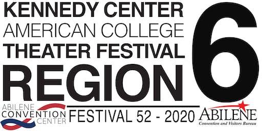 KCACTF Region 6 Festival 52 - 2020