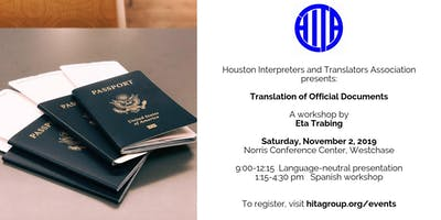 Translation of Official Documents