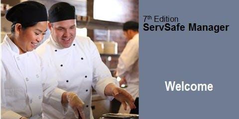 ServSafe® Food Mgr. Certification Class
