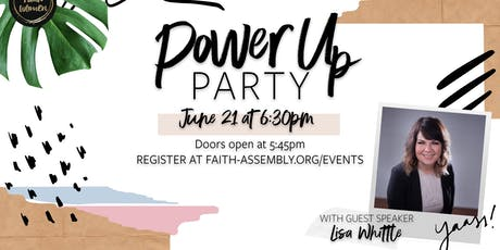Power Up Party tickets