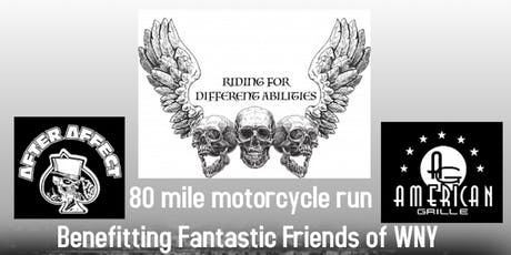 Riding For Different Abilities Motorcycle Run tickets
