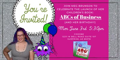 ABCs of Business Book Launch & Birthday Party