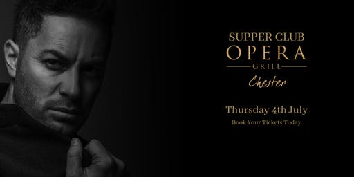 Supper Club at The Opera Grill ft. Paul Pashley