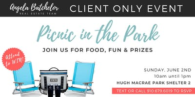 Picnic in the Park | The Angela Batchelor Team Client Appreciation Event