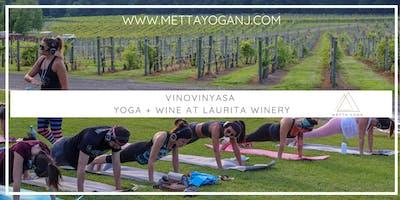 VinoVinyasa - Yoga & Wine at Laurita Winery
