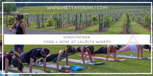 VinoVinyasa - Yoga & Wine at Laurita Winery