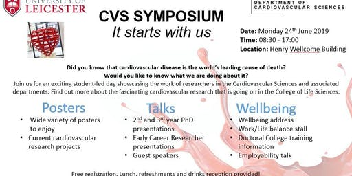 Cardiovascular Sciences Symposium: It starts with us
