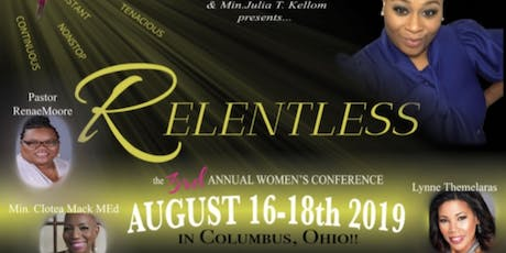 "Bare It All women's conference ""Relentless "" tickets"