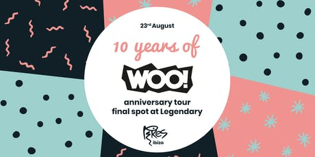 10 Years of WOO! tickets