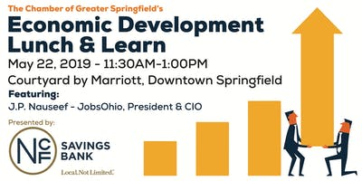 Lunch & Learn: JobsOhio and The Chamber of Greater Springfield