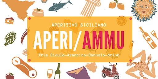 #AperiAmmu-Aperitivo Siciliano (Tris Siculo+ Arancino+Cannolo+Bevanda)