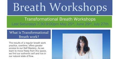 Transformational Breath Workshop with Lisa Sahakian tickets