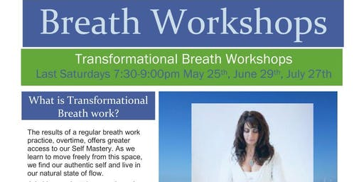 Transformational Breath Workshop with Lisa Sahakian