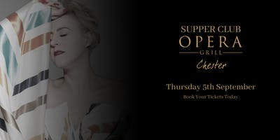 Supper Club at The Opera Grill ft. Lindsay Dracass