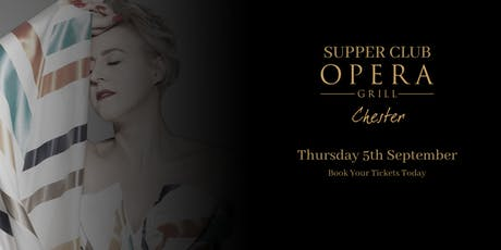 Supper Club at The Opera Grill ft. Lindsay Dracass tickets
