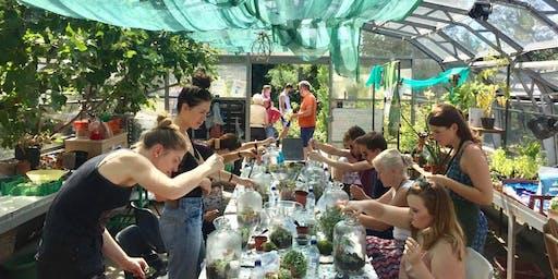 Terrarium Workshop with Jar & Fern: Jar Terrariums