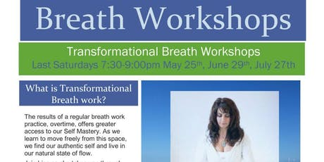 Transformational Breath Workshop with Lisa Sahakian tickets