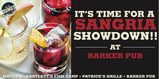 Sangria Showdown!