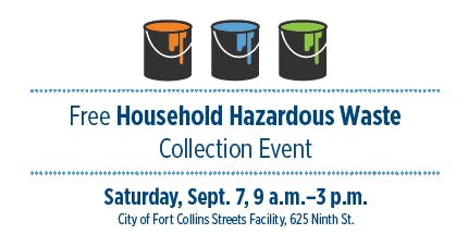Free Household Hazardous Waste Collection Event