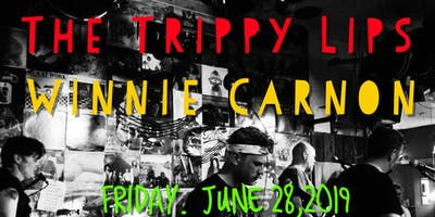 The Trippy Lips and Winnie Carnon in Olympia WA.     LIVE MUSIC!!!