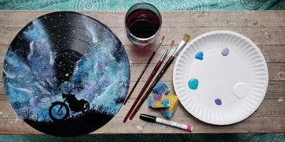 Paint and Sip - Painting On Vinyl at The Rec Room