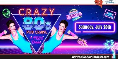 The 14th Annual Crazy 80's Pub Crawl