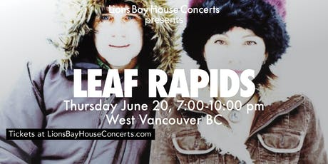Leaf Rapids: An Evening of Theremin |WEST VANCOUVER tickets
