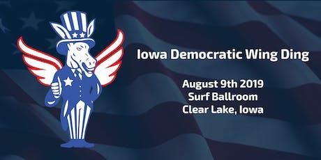 2019 Iowa Democratic Wing Ding tickets