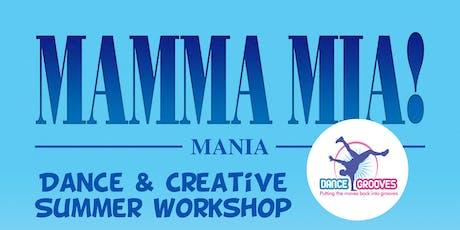 MAMMA MIA Mania themed Dance & Creative Summer Workshop at The Half Moon Putney tickets