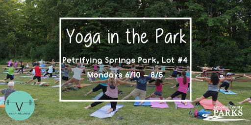 Kenosha County Go365 Yoga in the Park
