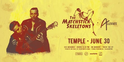 The Matchstick Skeletons w/ Alleviate & Lutra Lutra