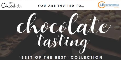 CILEx Devon and Hotel Chocolat - Chocolate Tasting 'Best of the Best' Collection tickets