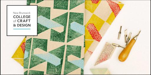 Design and Print - Block Printing on Fabric Workshop