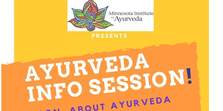 Ayurveda Info Session at MN Institute of Ayurveda tickets