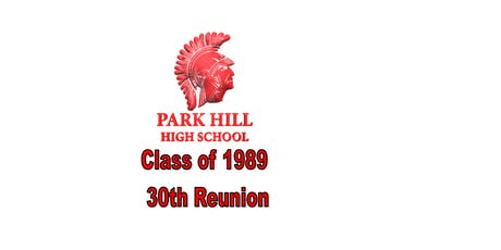 Park Hill Class of 1989 -30th Reunion tickets