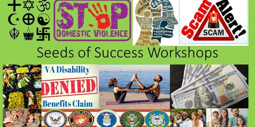 Seeds of Success Workshops-6th Annual Carolina Veterans Appreciation Expo