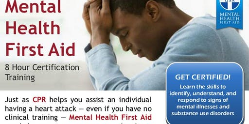Woodsboro/Gulf Bend Center Mental Health First Aid Training - Adult