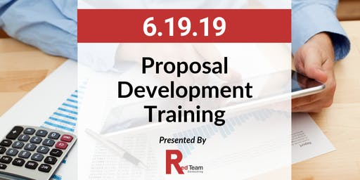 Proposal Development Training, Hosted by Red Team Consulting