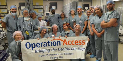 Operation Access KP Martinez Ophthalmology Surgery Session September 21, 2019