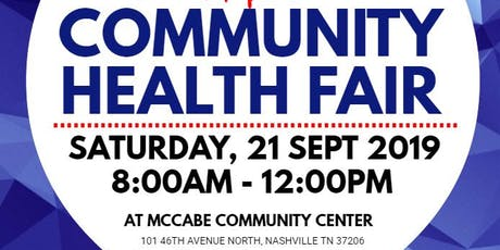 Metro Parks Health Fair tickets