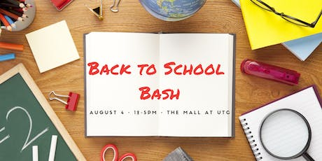 Back to School Bash at the Mall at UTC tickets